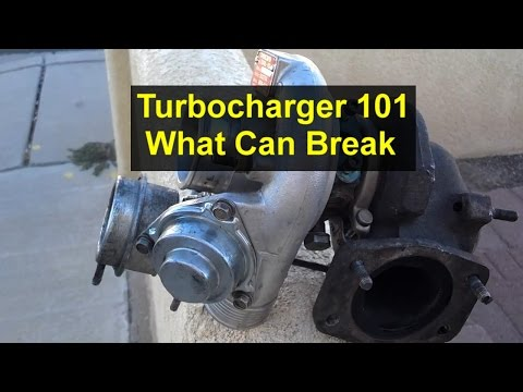 How to tell if a turbocharger is bad. What can go wrong with them. - VOTD
