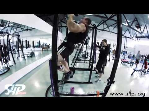 Тренировка Дениса Цыпленкова Denis Cyplenkov thick bar training