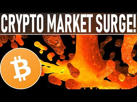 CRYPTO MARKET SURGE! BITCOIN DECOUPLES FROM GLOBAL MARKETS! CRYPTO'S TIME TO SHINE! WHALES BUY BIG!