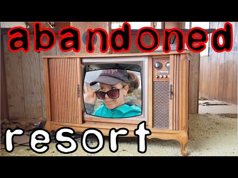 Abandoned Alpine Desert Trailer Park Resort