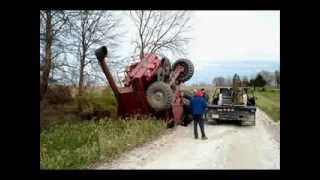Worst Tractor Accidents part 2 - 2015 [warning shocking]