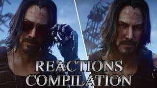 Keanu Reeves Reveal | Cyberpunk 2077 | Microsoft E3 Conference 2019 - Reactions Compilation