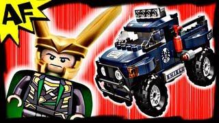 Avengers LOKI's COSMIC CUBE Escape 6867 Lego Marvel Superheroes Stop Motion Short & Review