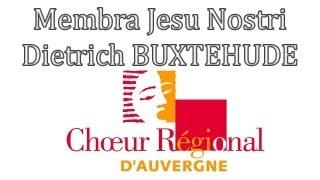Membra Jesu Nostri - Dietrich BUXTEHUDE