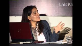 Bharti Kher -Chandigarh Lalit Kala Akademi-National Art Week of New Media.wmv