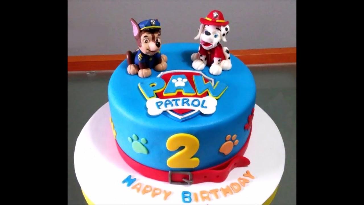 Baby Boy 2nd Birthday Cake Youtube