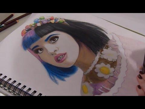 Drawing- Melanie Martinez - YouTube