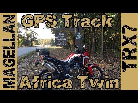 Magellan TRX7 GPS Track Flag Springs to Powell Honda CRF1000L Africa Twin
