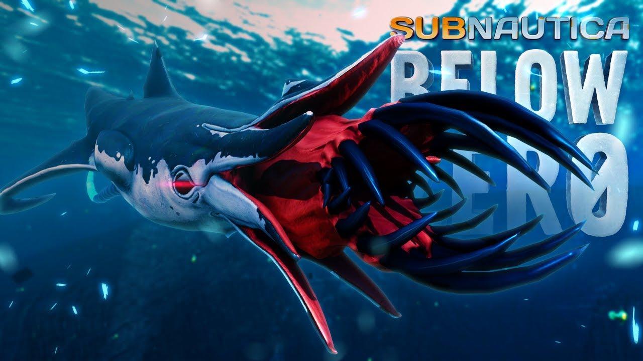 NEW LEVIATHANS BATTLE! - Subnautica Below Zero - Squidshark