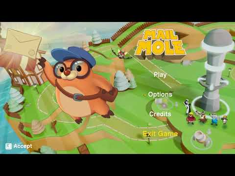 Mail Mole Gameplay PC GAME Early Stage |