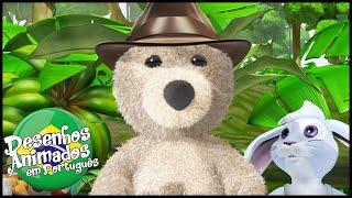 Little Charley Bear em Português   Charlie no Safari   Episódios Completos   Desenhos Animados