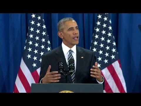 Obama's entire final foreign policy speech