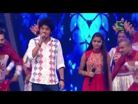Indian idol Junior jalwa 2015 (Kyo, jiyei Kyu)  Papon and Nahid part 1