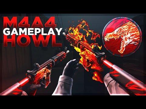 M4A4 HOWL SKIN GAMEPLAY! (CSGO Deathmatch)