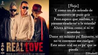 Gotay El Autentiko Ft Ñengo Flow y Ñejo - Real Love (Remix)(Letra) (Video Music) 2014