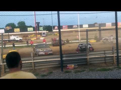 New Egypt Speedway demolition derby (July 19,2014)