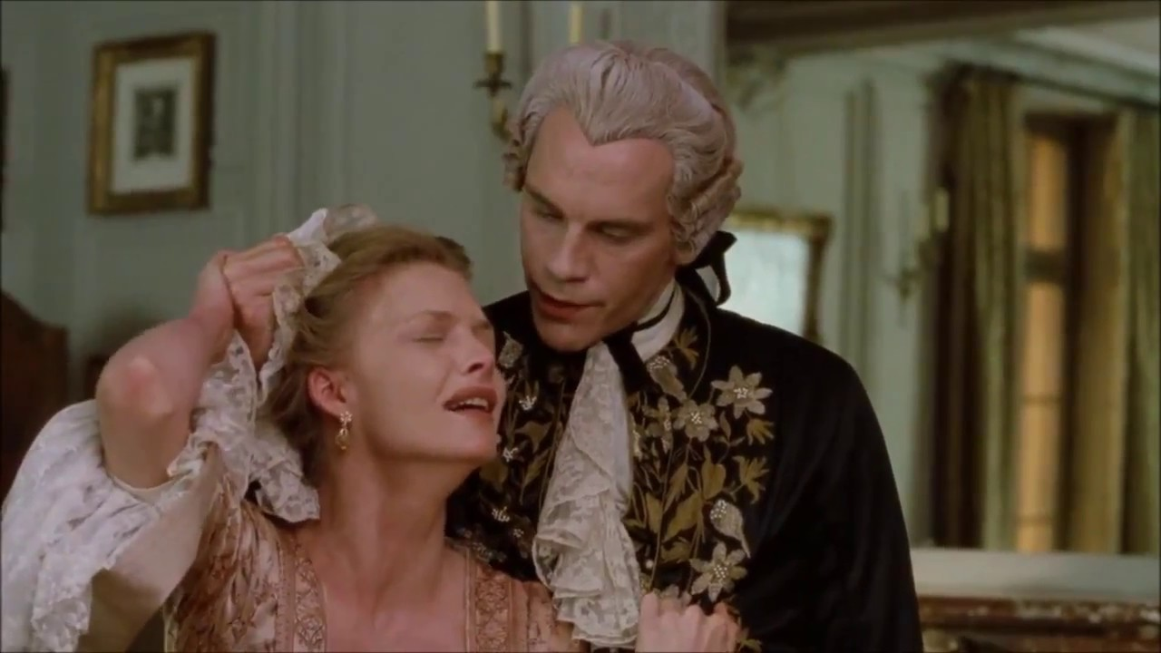 """It's Beyond My Control"" - Dangerous Liaisons - John Malkovich, Michelle Pfeiffer"