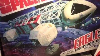 1/48 MPC Space 1999 Eagle model kit review