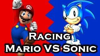 Baixar Mario VS Sonic Racing