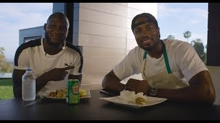 "Serge Ibaka presents: ""How hungry are you?"" 
