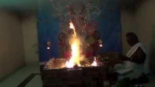 Ganesha Chaturthi Maha Ganapathi Homam Part 2 vedicfolks.com