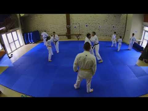 KARATE Champagnole entraînement