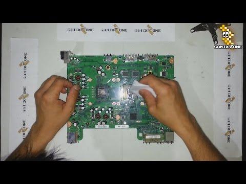 Reballing Xbox360 Slim Solucion Luz Roja By Masterreballing 2013