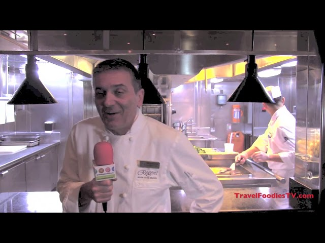 Regent SevenSeas Voyager Head  Chef Stephen Interview