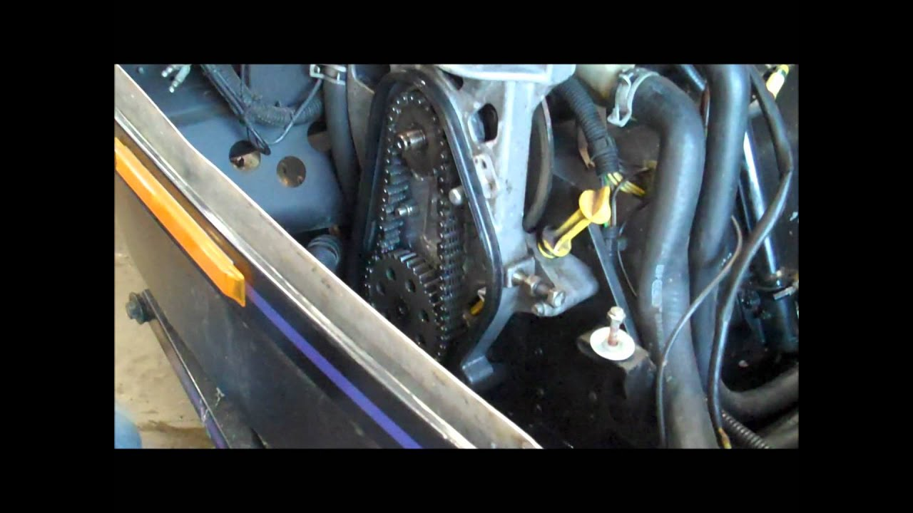 medium resolution of how to chaincase removal chain tension adjustment snowmobile