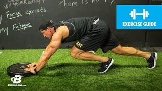 How to Plate Push | Conditioning Exercise Guide