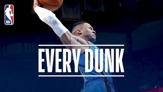 Russell Westbrook, Lonzo Ball, and Every Dunk From Wednesday Night | November 22, 2017 thumbnail