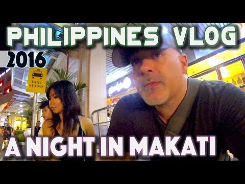 Philippines A Night in Makati | Asia Travel VLOG