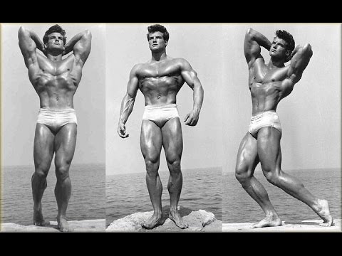 Steve Reeves Workout - Old School Aesthetics
