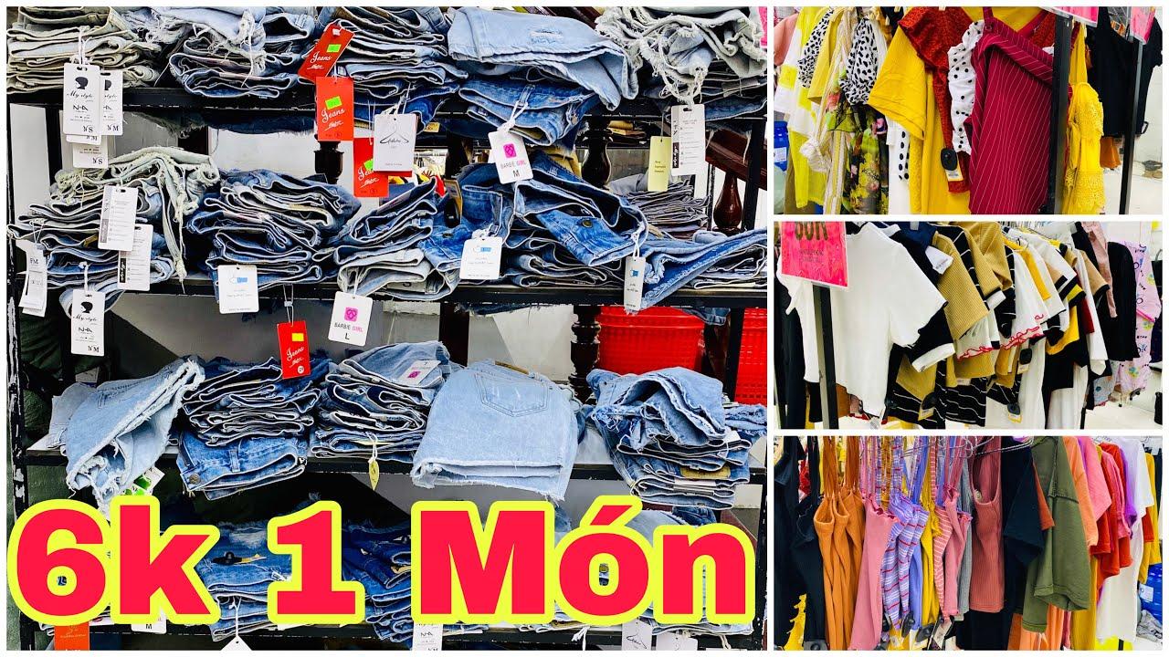 6k Một Món Quần Jean Áo Thun Crop Top Hai Dây Đầm Váy Đồ Bộ Tại Vĩnh Long | Khương Nhựt Minh