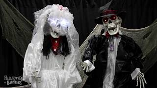 Halloween Haunters | Bride & Groom Skeleton