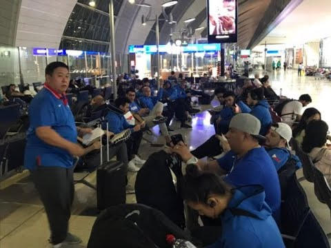 Delay hits Gilas return from Iran loss