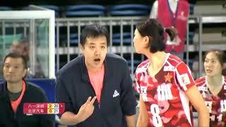 2017-2018 China Volleyball League 19th Round YUAN Xinyue Highlights