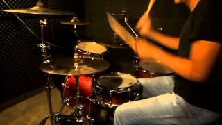 Jota Erre - Cassiane - 500 Graus (Drum Cover)