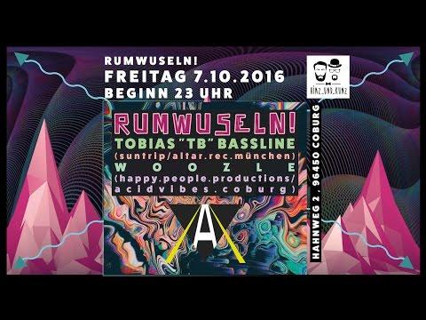 Live at Rumwuseln Coburg [Progressive Psytrance Mix 07.10.2016]