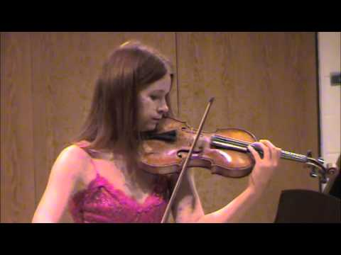 Kreisler: Recitativo and Scherzo for Solo Violin - Chloé Trevor