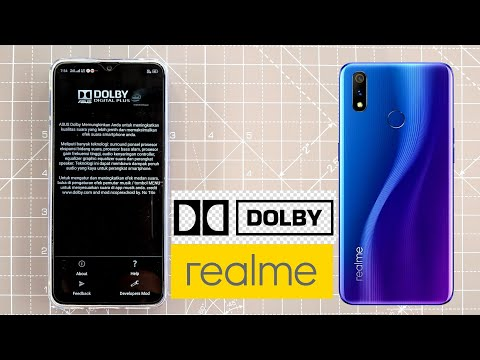 RealMe 3 Pro Asus Dolby Atmos Working for Speakers and