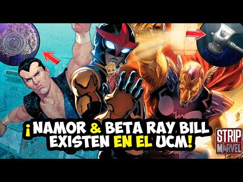 ¡NAMOR Y BETA RAY BILL existen en el UCM! Nuevos SECRETOS de INFINITY WAR, Nova en la Fase 3...