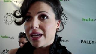 Lana Parrilla at PaleyFest 2012