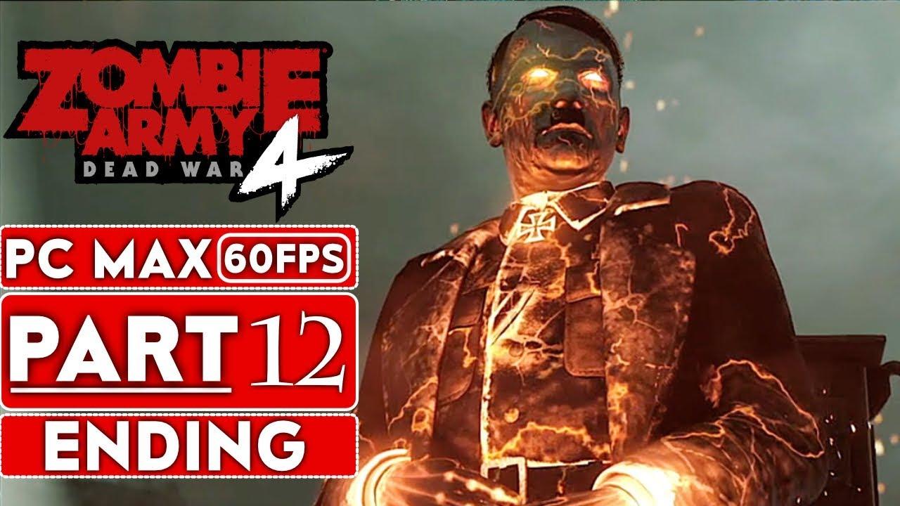 ZOMBIE EXÉRCITO 4 MORTA FINAL DA GUERRA Parte guia da gameplay 12 [1080p HD 60FPS PC] - Sem análises + vídeo