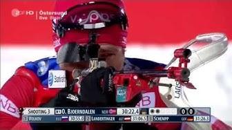 Ole Einar Björndalen  1.Platz 20 km Einzel Östersund 2015