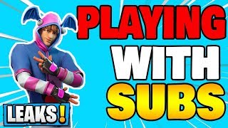 🔴 Playing with subs/ 2600 wins/ marshmallow live event now! fortnite live stream