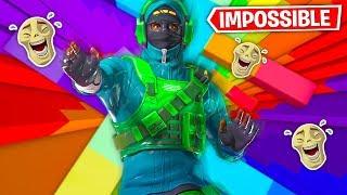 MEMES in Rainbow Dropper Map in Fortnite! (HARD)