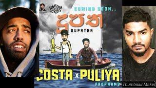 Rasthiyadu Padanama X Costa | DUPATHA New Sinhala Rap
