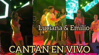 Luciana Fuster & Emilio Jaime Cantando   Nuestro Final & B.a.e
