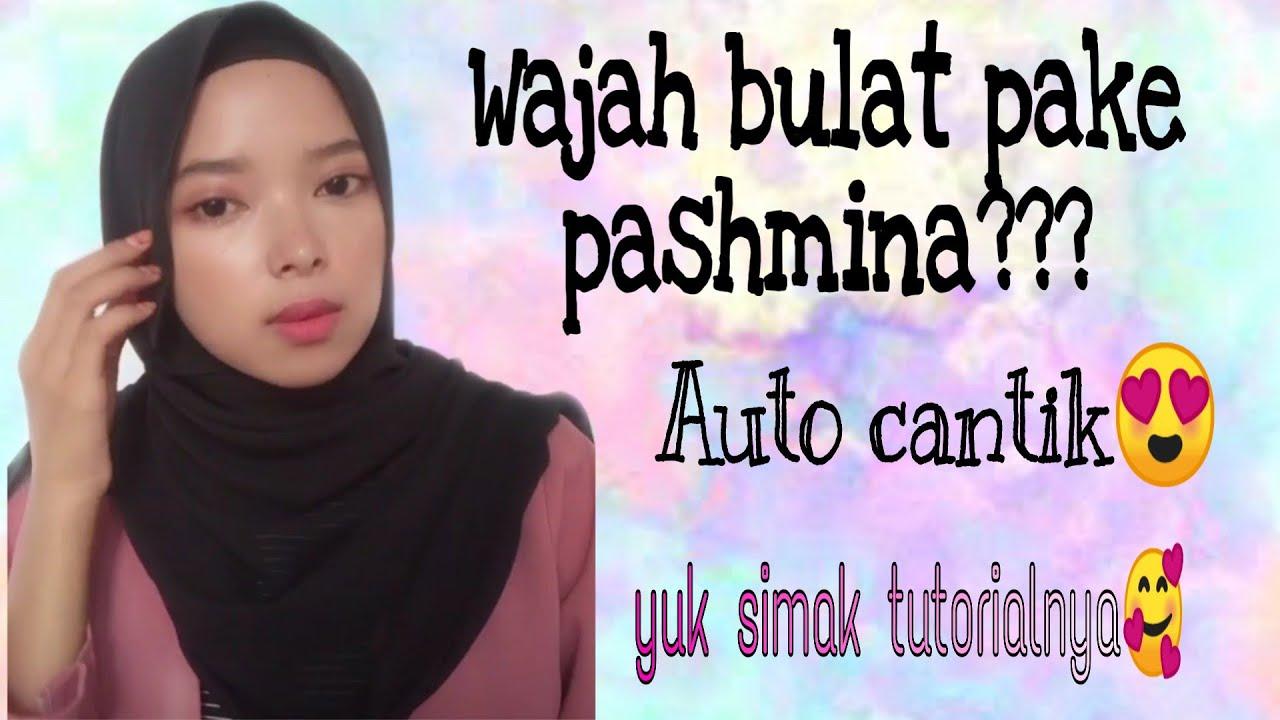 Tutorial Hijab Pashmina Bahan Tebal